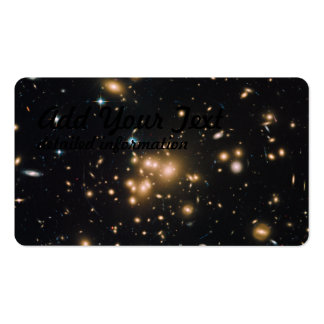 Hubble Wide-Field Image of Galaxy Cluster Pack Of Standard Business Cards