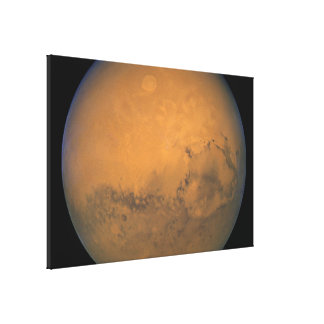 Hubble's Closest View of Mars Canvas Prints