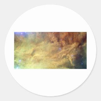 Hubbles Lagoon Round Sticker