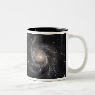 Hubble's Largest Galaxy Portrait Two-Tone Mug