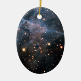 Hubble's 'Mystic Mountain' - Deep Space Christmas Ornament
