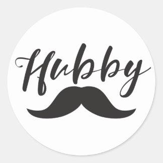 Hubby Sticker