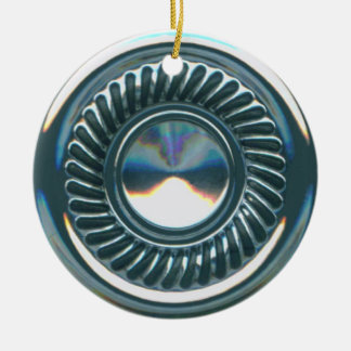 hubcap 2 christmas ornament