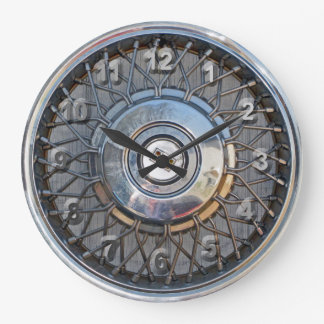 Hubcap Wallclocks