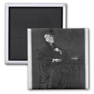 Hubert George de Burgh-Canning Square Magnet