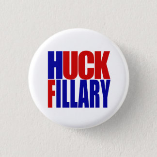 """HUCK FILLARY"" 1.25-inch 3 Cm Round Badge"
