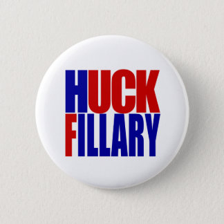 """HUCK FILLARY"" 6-inch 6 Cm Round Badge"