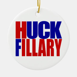 """HUCK FILLARY"" CHRISTMAS ORNAMENT"