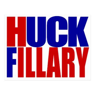 """HUCK FILLARY"" POSTCARD"
