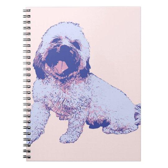 Huck the mutt notebook
