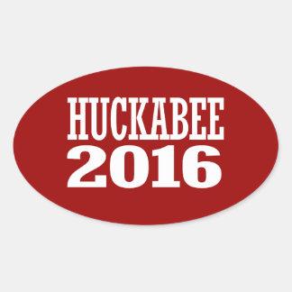 HUCKABEE 2016 OVAL STICKER