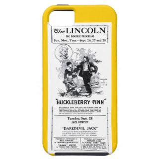 Huckleberry Finn 1920 silent movie advertisement iPhone 5 Covers
