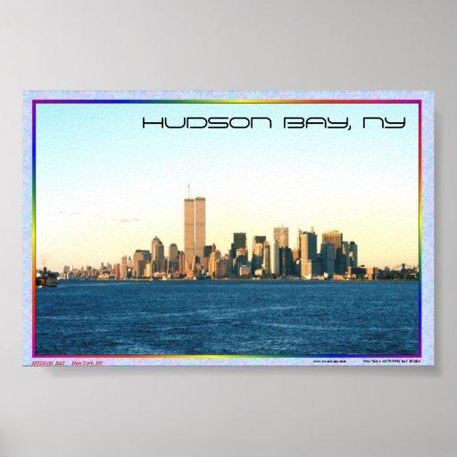 HUDSON BAY POSTER