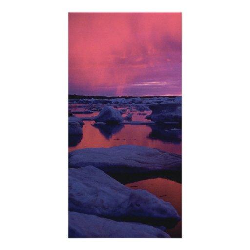 Hudson Bay Sunset Canada Photo Cards