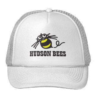 Hudson Bees Baseball Cap (White) Mesh Hat