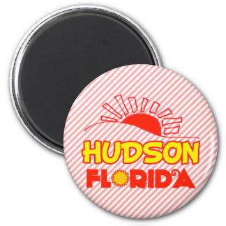 Hudson Florida Refrigerator Magnet