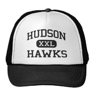 Hudson - Hawks - Catholic - Jersey City New Jersey Mesh Hat