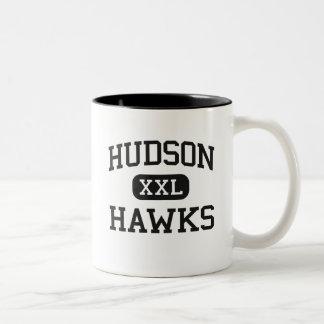 Hudson - Hawks - Catholic - Jersey City New Jersey Two-Tone Mug