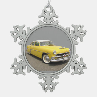 Hudson Hornet ~ Pewter ornament
