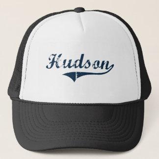 Hudson New York Classic Design Trucker Hat