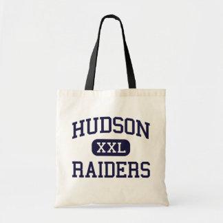 Hudson - Raiders - High School - Hudson Wisconsin Canvas Bag