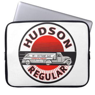 Hudson Regular Gasoline vintage sign reproduction Computer Sleeves