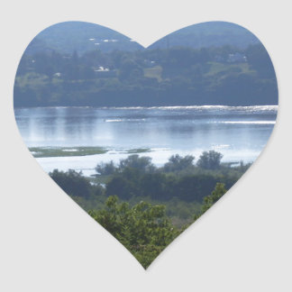 HUDSON RIVER HEART STICKERS