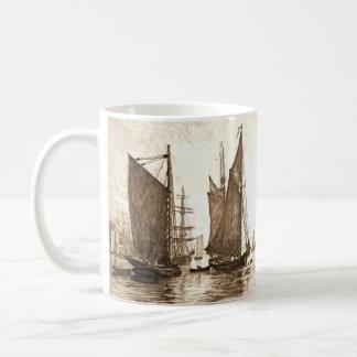Hudson River Morning 1889 Basic White Mug