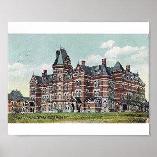Hudson River State Hospital Poster