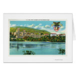 Hudson River View of US Military Academy Card