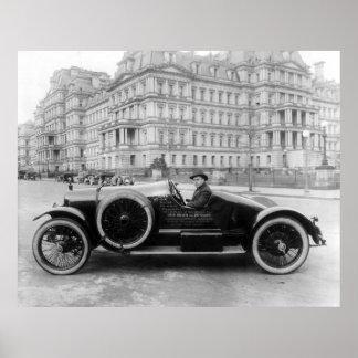 Hudson Super Six, 1920 Poster