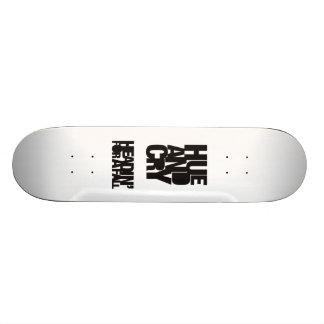 Hue and Cry - Headin For A Fall - Skateboard