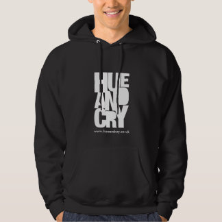 Hue and Cry - Hooded Sweatshirt (Black)