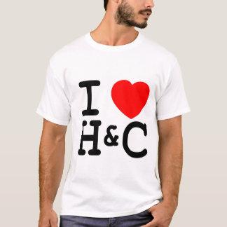 Hue and Cry - I love H&C (Mens) T-Shirt