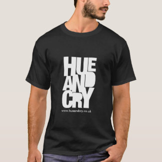 Hue and Cry - T-shirt (Black)