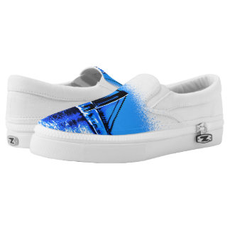 Hues of Blues Bridge Z slipons Slip On Shoes
