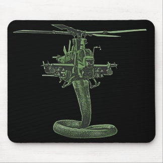 Huey Cobra Helicopter Mouse Mat