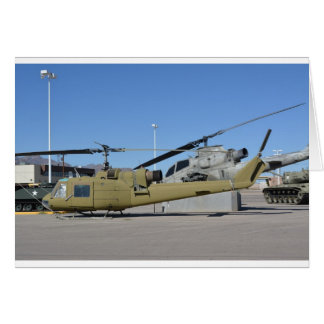 Huey Cobra helicopters Aircraft Destiny Greeting Card