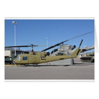 Huey & Cobra helicopters Aircraft Destiny Greeting Card