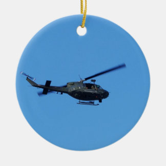 Huey over Malta Christmas Ornament