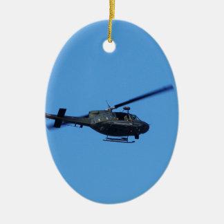 Huey over Malta Christmas Ornament