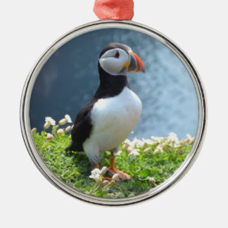 Huffin' Puffin Christmas Ornament