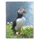 Huffin' Puffin Notebook
