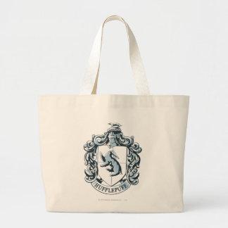 Hufflepuff Crest Blue Bags