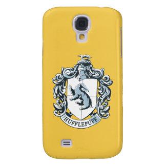 Hufflepuff Crest Blue Galaxy S4 Case