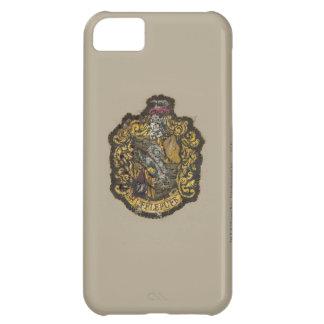 Hufflepuff Crest - Destroyed iPhone 5C Case