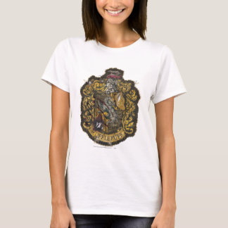 Hufflepuff Crest - Destroyed T-Shirt