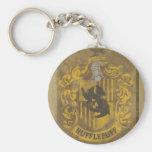 Hufflepuff Crest HPE6 Basic Round Button Key Ring