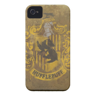 Hufflepuff Crest Painted iPhone 4 Case-Mate Case