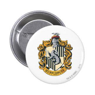 Hufflepuff Crest Pinback Button